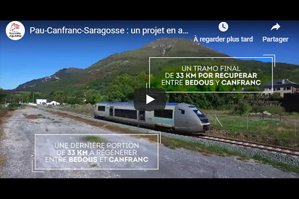 Pau – Canfranc – Zaragoza: la película