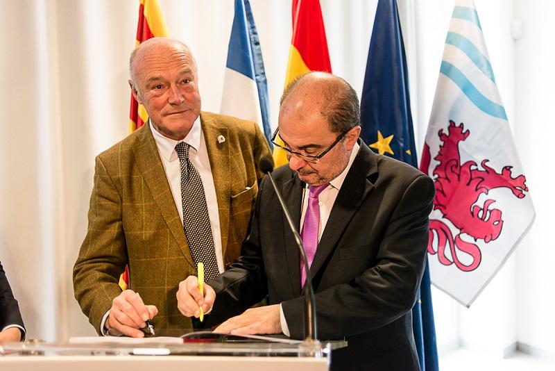 SE suscribe el acuerdo de subvención con la Unión Europea  para ejecutar los estudios para la rehabilitación de la línea ferroviaria